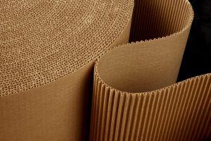 rolo bobina chapa de papelão ondulado
